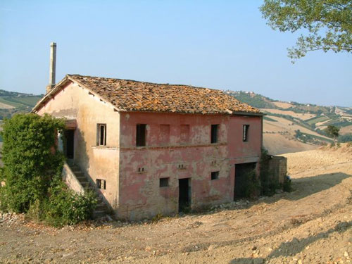 Italian Country House For Sale To Be Restored In Marche